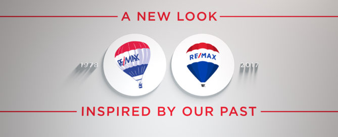 The new RE/MAX logo is inspired by our past.